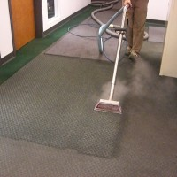 Carpet extraction @ entrance from warehouse