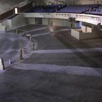 Dyeing concrete sanctuary