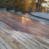 Pressure Washing- Deck
