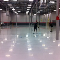 Applying ESD coating to manufacturing facility in Deland, FL