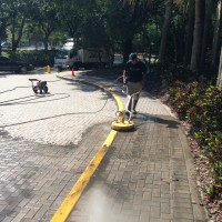 Sidewalk / Paver Pressure Washing
