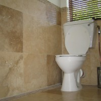 Polished travertine installed ©JoeG2007, flickr