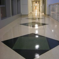 Forbo floor @ Seminole County Sheriff's Office, Sanford, FL